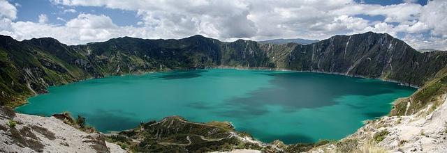 Laguna Quilotoa in Ecuador