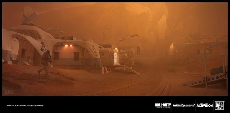 ArtStation - Call of Duty Street Fight, Richard Wright