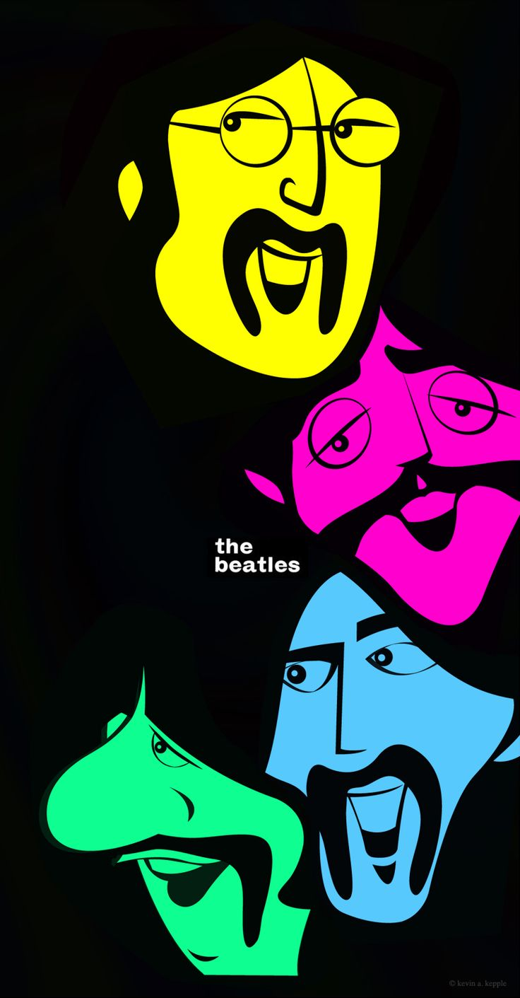 The Beatles by Kevin Kepple