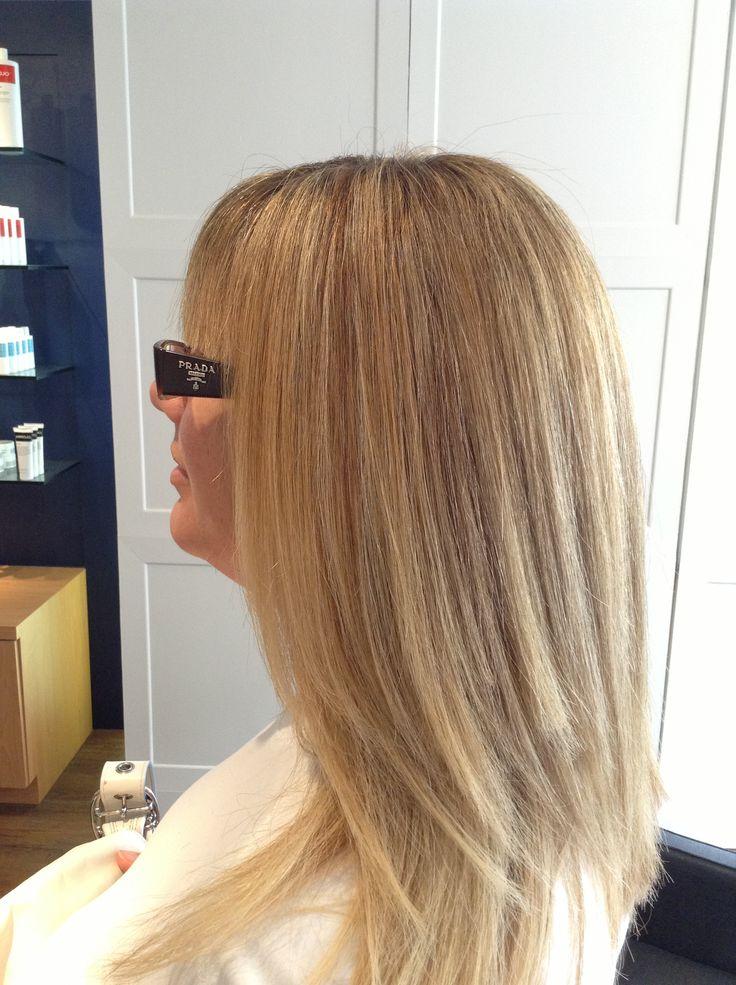 Great highlights very natural looking.  Stonerose hair studio 647-348-0076 1504 Yonge street ( Yonge and St.Clair )