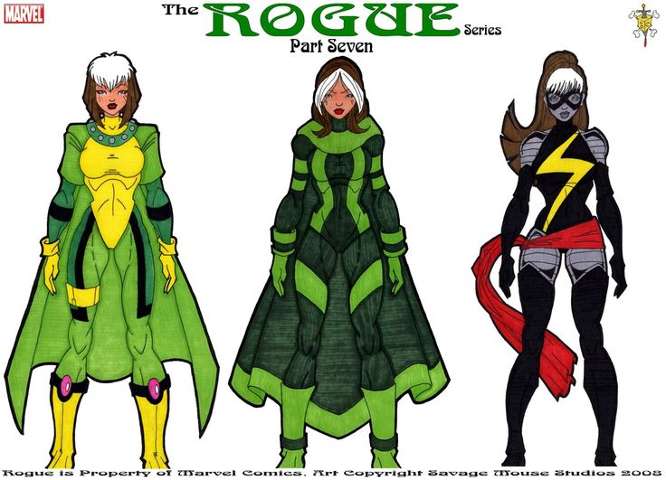 Rogue Series: Part Seven by SavageMouse@deviantART