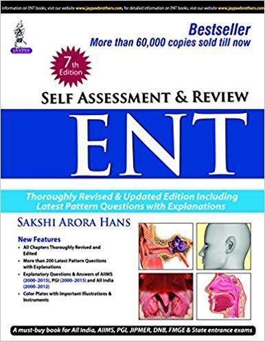 Kết quả hình ảnh cho Self Assessment & Review ENT – 7th edition.pdf