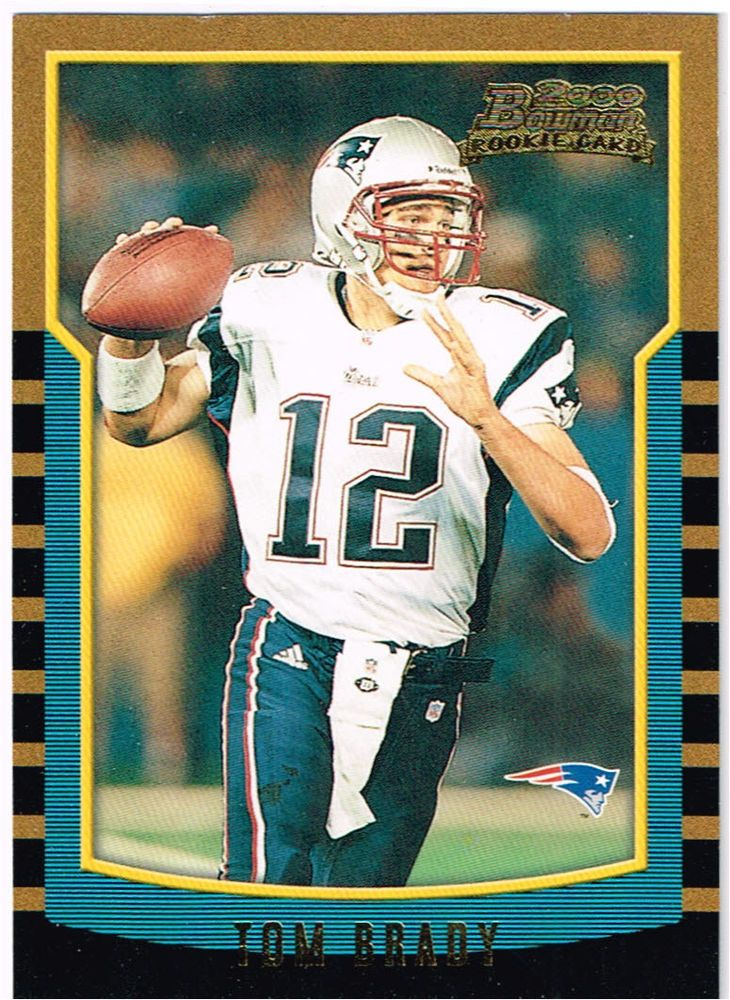 Tom Brady : New England Patriots : Rookie Card : Bowman Numbered 236 of Year 200