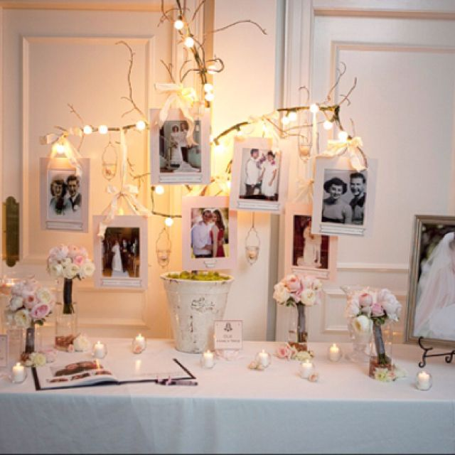 25 best ideas about 25 wedding anniversary on pinterest for Anniversary decoration at home