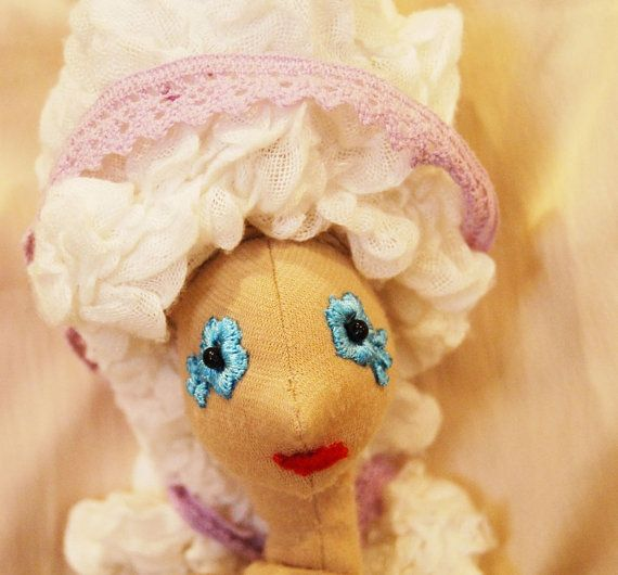 Rococo hair for the doll by Rongylady on Etsy