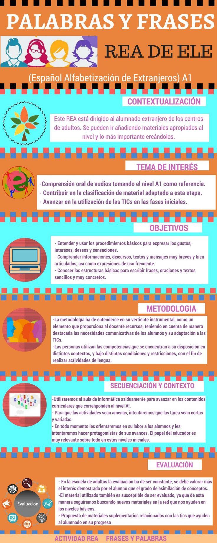 infografía elaborada para analizar mi REA Público en la red