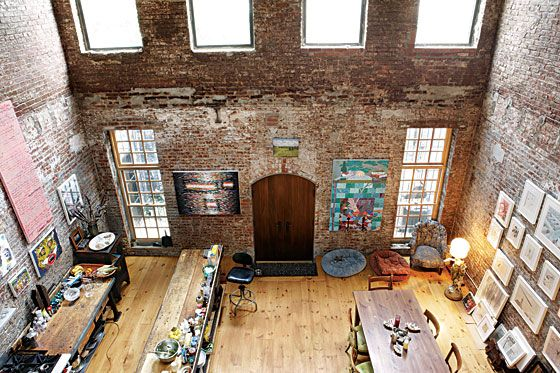 A Red Hook Warehouse Turned Live-Work Haven
