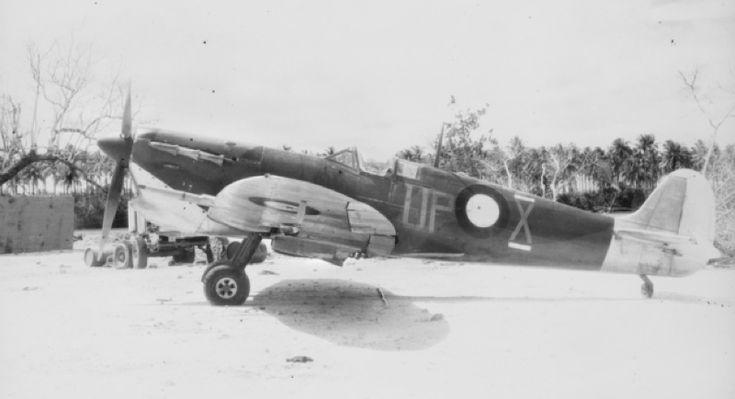 79 Squadron RAAF Spitfire