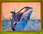 Killer Whale 11 in. x 15 in.