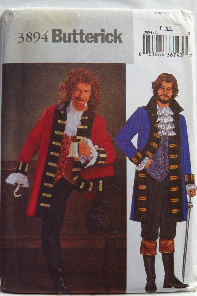 Men's Pirate Costume Pattern