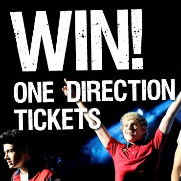 COMPETITION: WIN One Direction Concert Tickets!