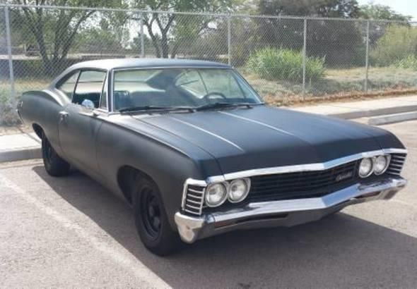 This 1967 Chevrolet Impala is listed on Carsforsale.com for $10,000 in Calabasas, CA. This vehicle includes DVD,AM/FM,iPod Port,Leather Seats,8 Track Player,Non Smoker,CD Player Single,Premium Paint,No Rust,Original Owners Manual