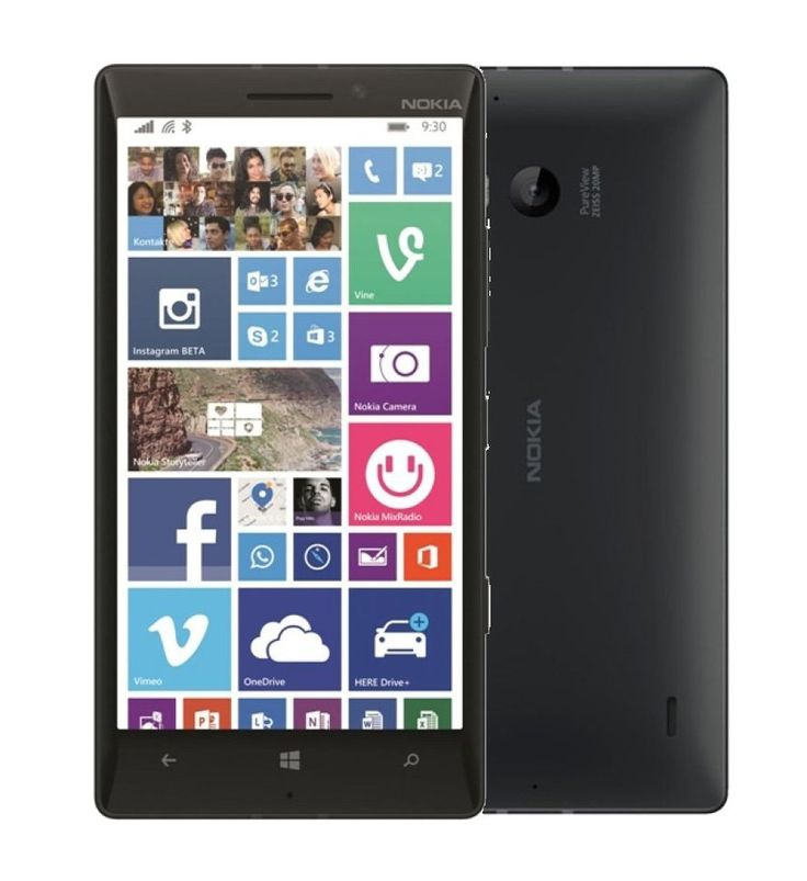 """Nokia Lumia 930 32 GB, design to fit in your hand and pocket, full HD display, 20 MP pureview camera and  four directional microphones with Surround-Sound. Perfect for capturing every moment,  2.2GHz Snapdragon 800 processor, 4G LTE connectivity, built-in wireless charging and a 5"""".  http://www.zocko.com/z/JITLE"""
