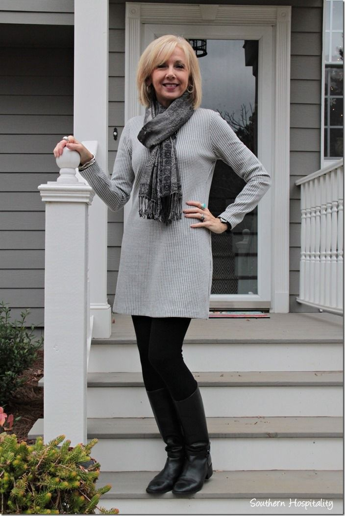 dress and boots / #21stepsstylecourse