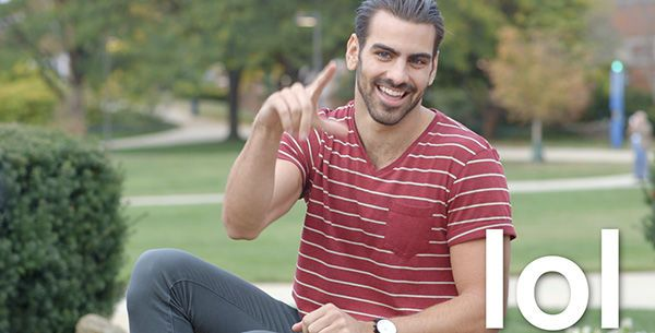#NyleDiMarco teaches us useful ASL Teacher showed us this in class the other day and made us explain the words to her she didn't know