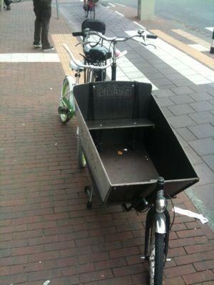 Amsterdam giorno 5 bis: bici cargo, auto elettriche e palazzi bidimensionali
