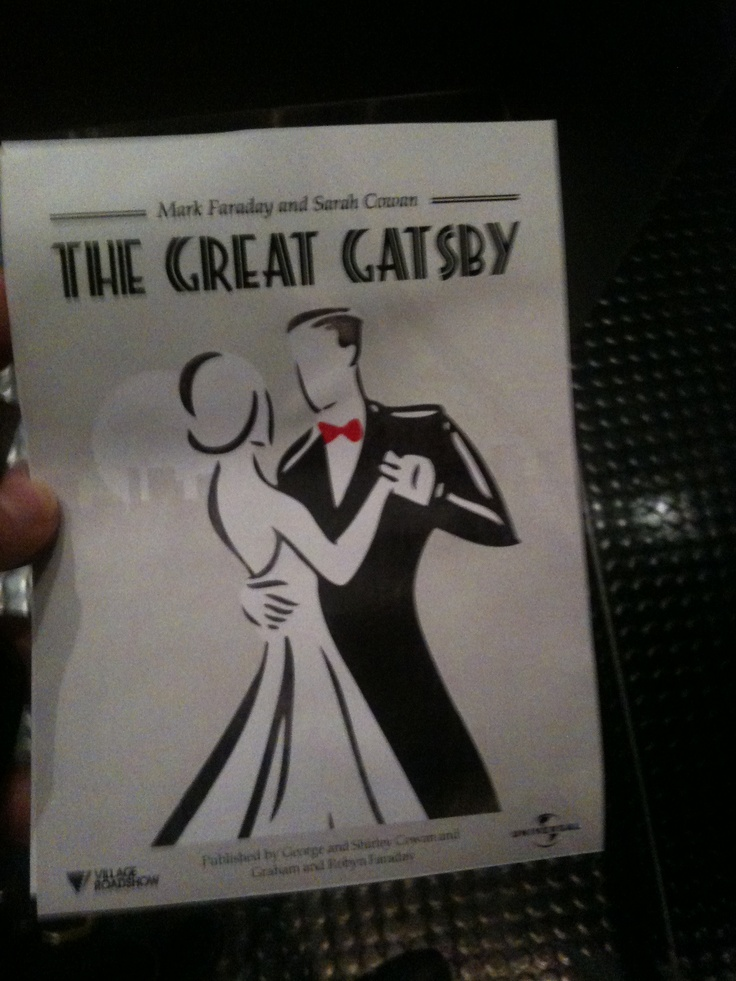 Great Gatsby Engagement Invite