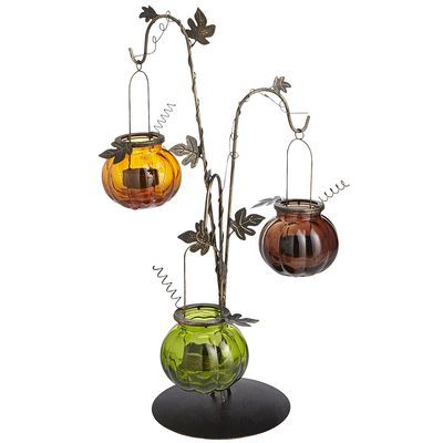 Hanging pumpkin tealight holder yes they are back definitely