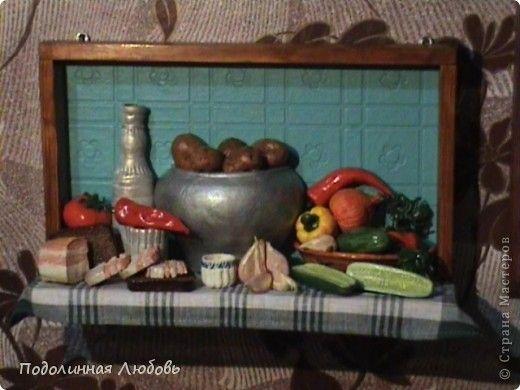 Картина панно рисунок Лепка Лепка укрась свой дом Тесто соленое фото 1