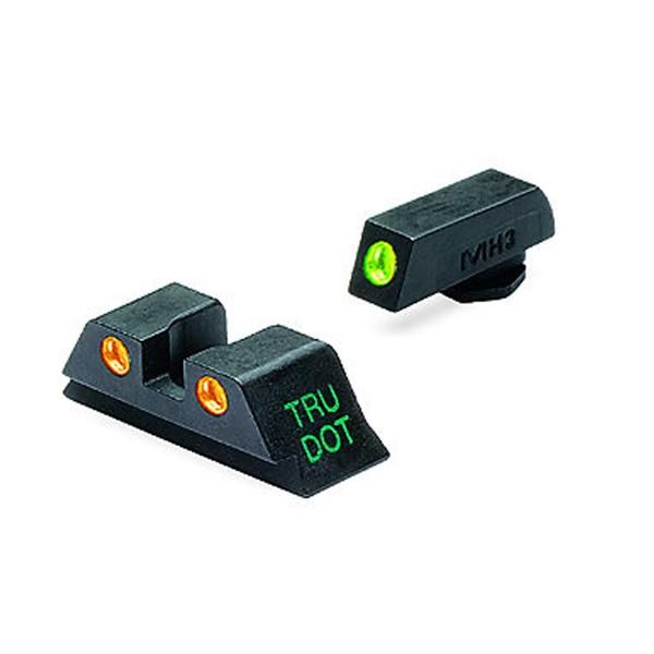 A true Meprolight innovation, and the leader in night sight technology. Mepro Self illuminated night sights are the brightest in the world and approximately 20% brighter than the competition. Precise handling and installing of the Tritium light source and lenses results in purest and clearest sight available. Each unit is custom designed for fit to specific firearm models.