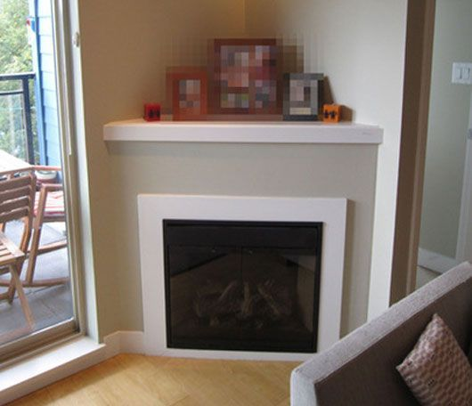 7 best Small space fireplace images on Pinterest | Corner ...