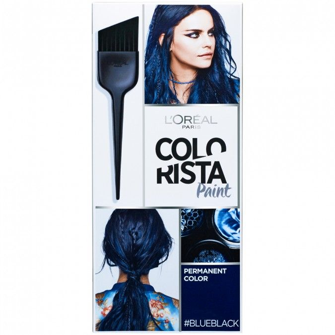 A Permanent Blue Black Hair Colour To Craft The Exact Look You