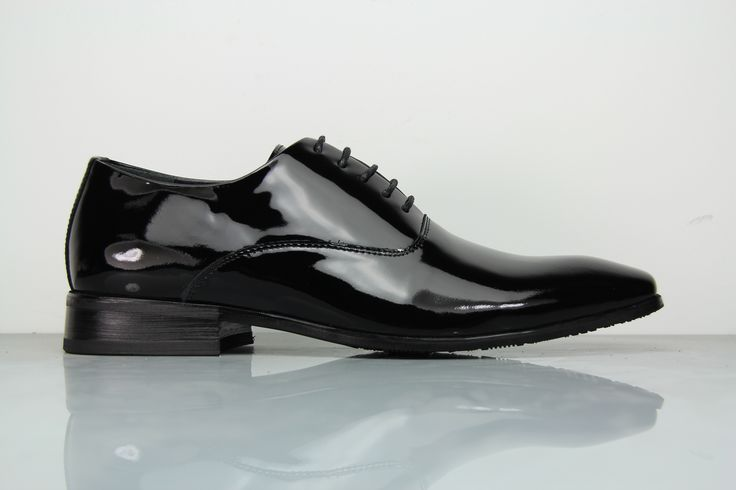 FÅNE - Executive Groom Black Leather Shoes