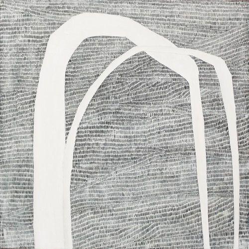 vjeranski | Karine Lége LA BOUCLE II :: 40x40 • VENDU