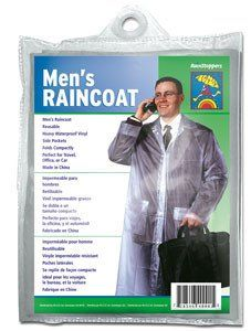 Men's Heavyweight resuable Raincoat – Umbrella Bazaar - A Wholesale Umbrella Supplier