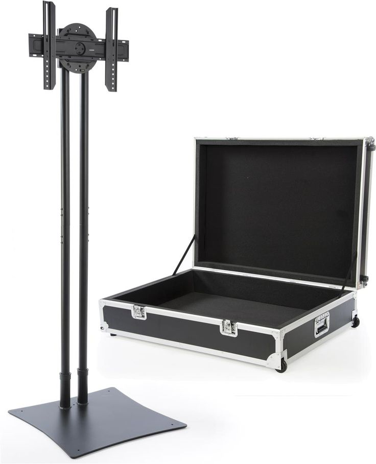 Portable Tv Stand W Rotating Bracket Fits Monitors 32 70