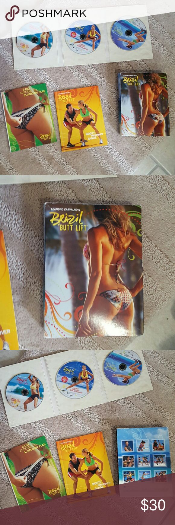 Selling this Leandro Carvalho's brazil butt lift dvd on Poshmark! My username is: miss_violet. #shopmycloset #poshmark #fashion #shopping #style #forsale #Accessories