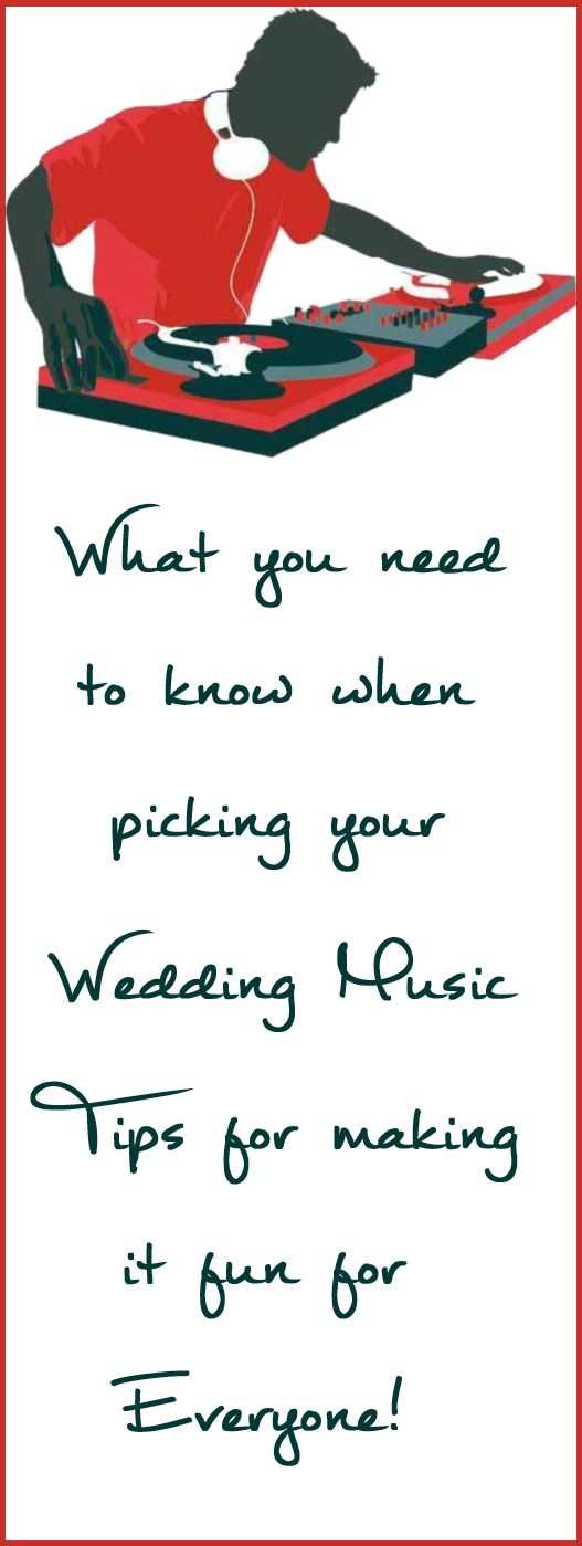 Top Tips on How to Create Your Own Wedding Music Playlist
