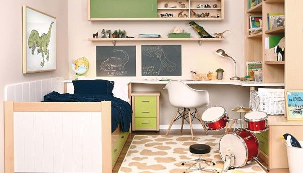 53 best ambiente juvenil e infantil images on pinterest for Habitacion infantil cama nido