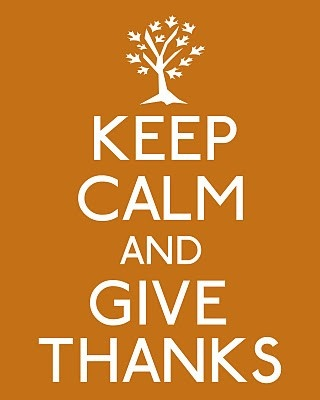 Be thankful for good health, the blessing of family and company of good friends...  YOU included!