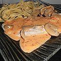 Escalope de dinde sauce chorizo et champignon ww au thermomix (ou non) - La cuisine d'Angelle