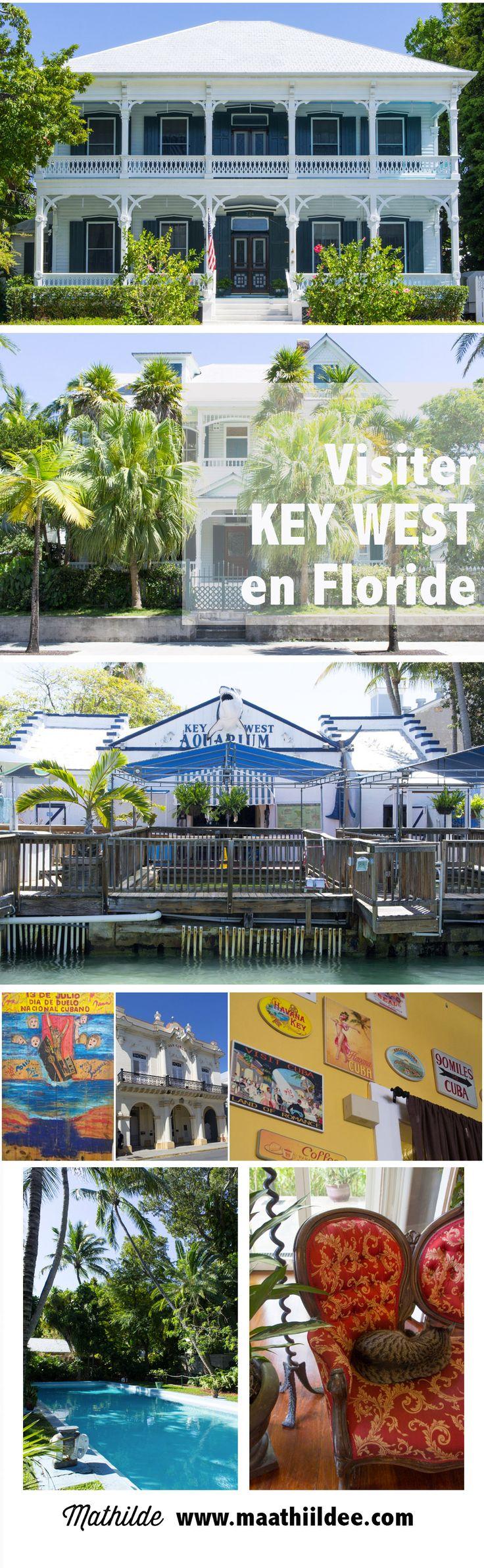 Key West, une ville tout au sud de la Floride, là où les vacances sont perpétuelles. On y visite la maison d'Hemingway & on se balade dans les rues bordées de palmiers.