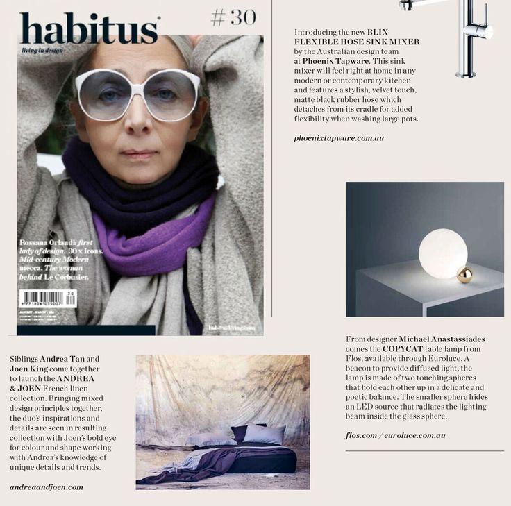 Andrea & Joen French Bed Linen in Habitus #30