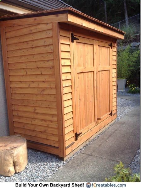 Lean To Shed From Our Back Yard Shed Collection Http Www