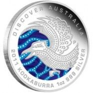 2011 Australian Perth Mint Kookaburra 1 Kilo (32.15 ounces) Silver Coin. #mike1242 #silvernetwork #sellingcoins #isncoins
