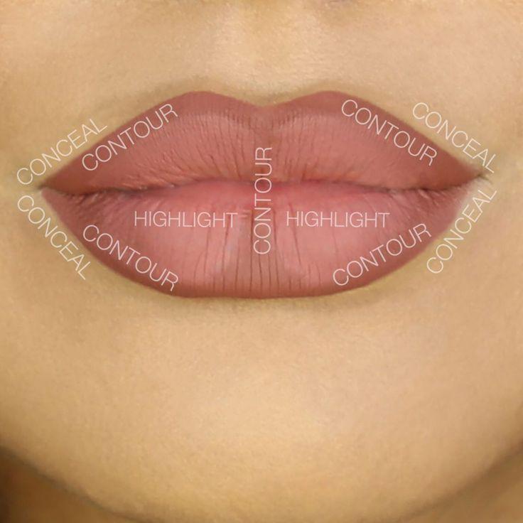 Lip Contouring Tipps selber machen #beauty #makeup