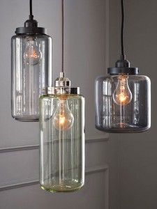 Industrial Lighting maybe above the kitchen table in the nook?