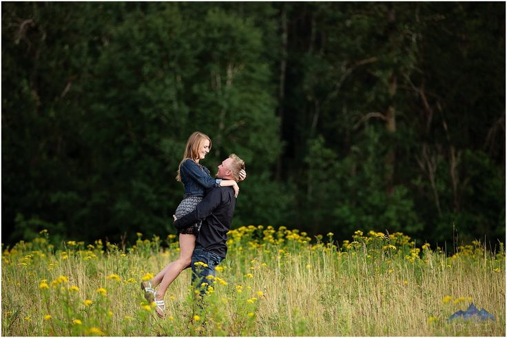 Engaged | Romantic | Love | Flower Field | Enjoy Today Photography