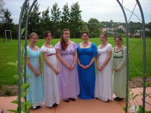 Costumed Regency Group