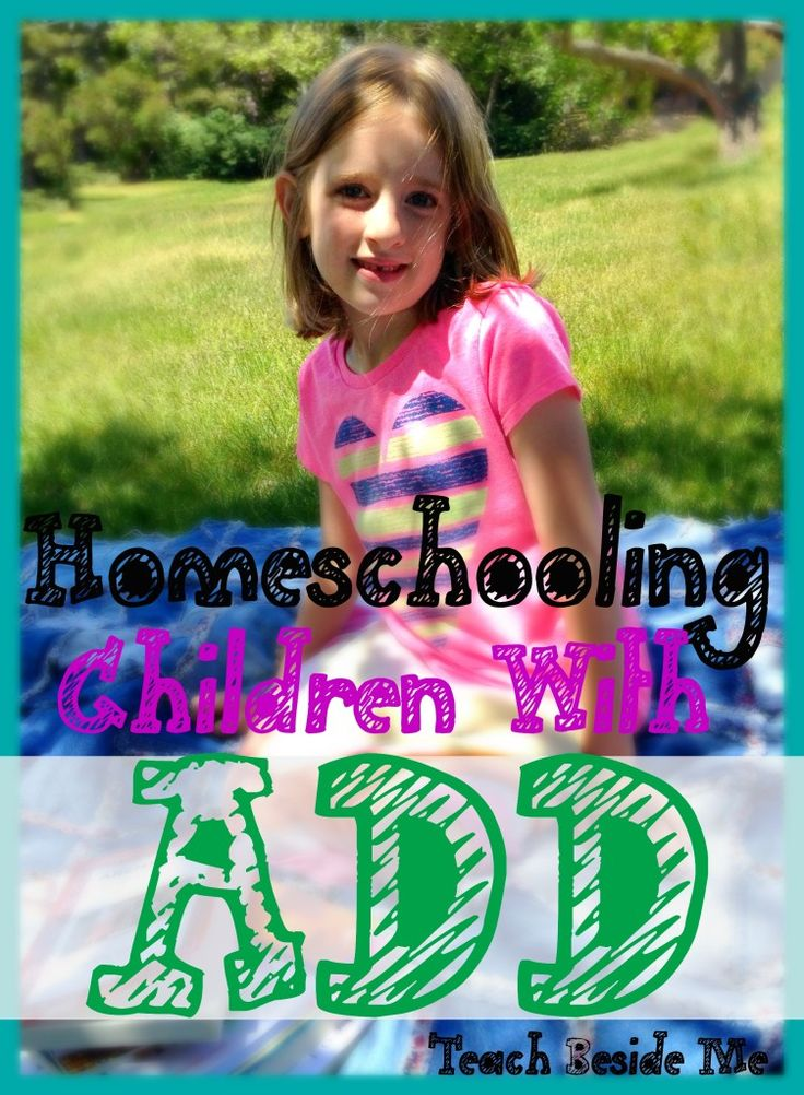 Homeschooling With ADD - ADHD