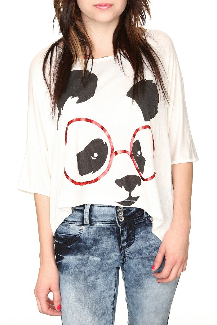 Panda Shirt! Clothes i want Pinterest Casual, Cute