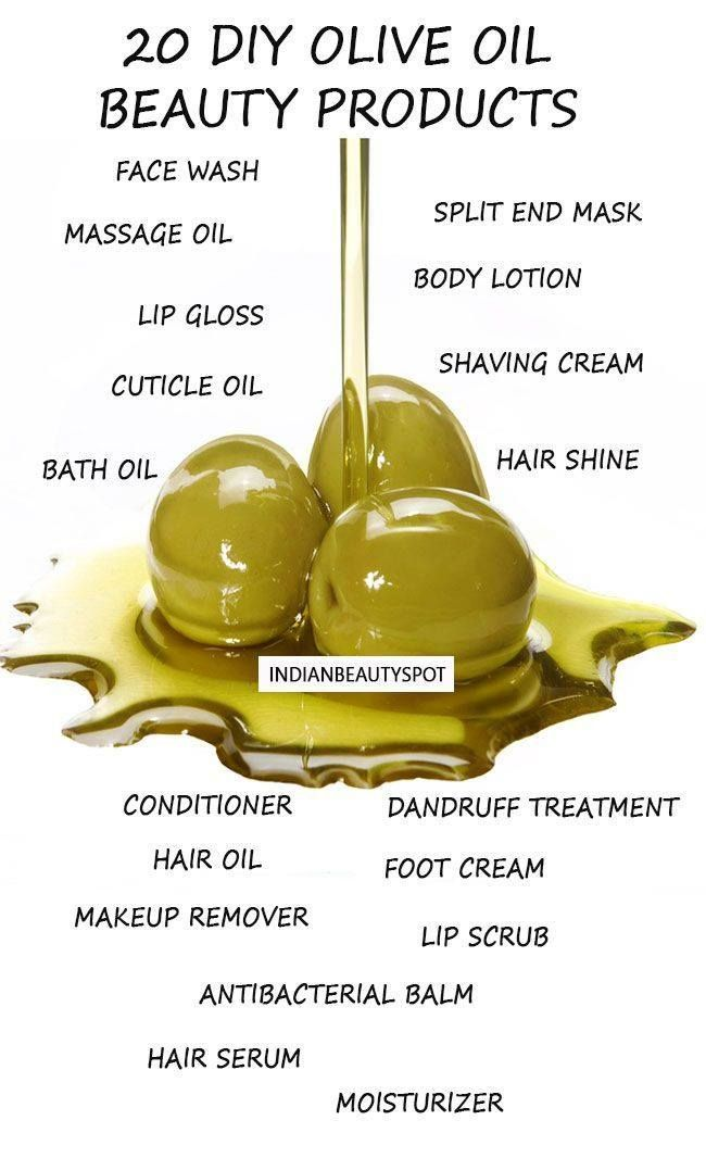 Olive oil beauty uses! Very helpful and such great ways to use an inexpensive household oil! :)