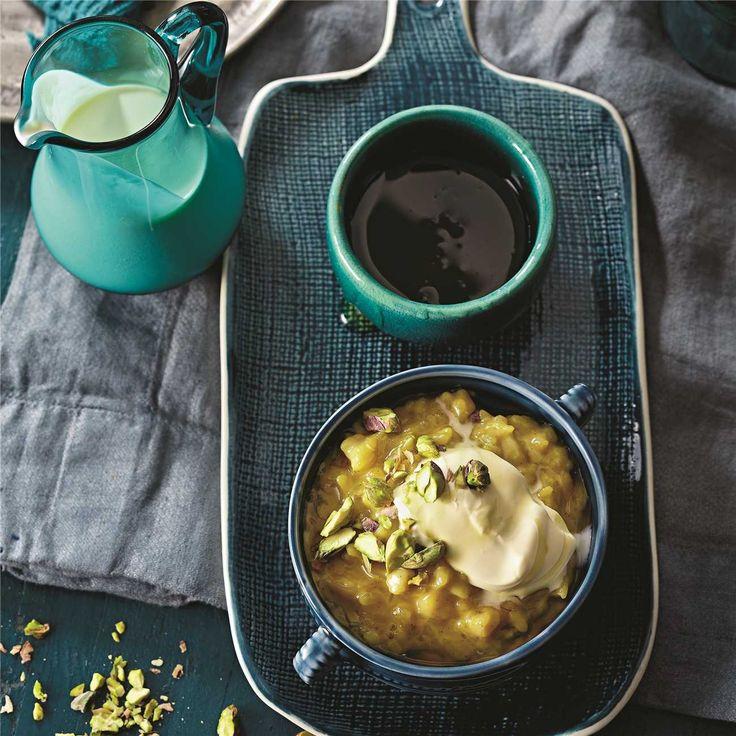 Chai & Saffron Rice Pudding