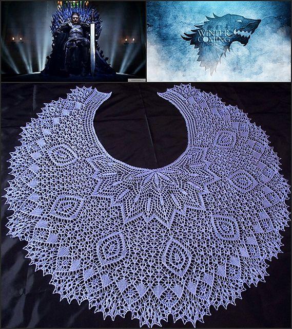 1257 besten Knit Shawl Patterns Bilder auf Pinterest | Ponchos ...