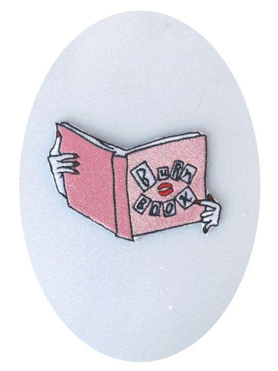 Burn Book Patch - £4.07 https://www.etsy.com/listing/260569546/the-burn-book-patch?ref=fp_item&atr_uid=21636708&aref=72471894939