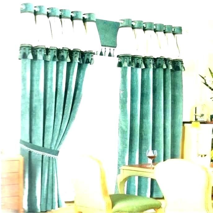 Encouraging Blue And Green Drapes Ideas New Blue And Green Drapes